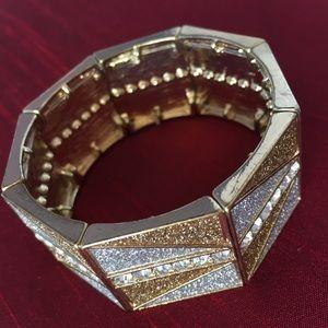 Jewelry - Octagon Rhinestone Bangle